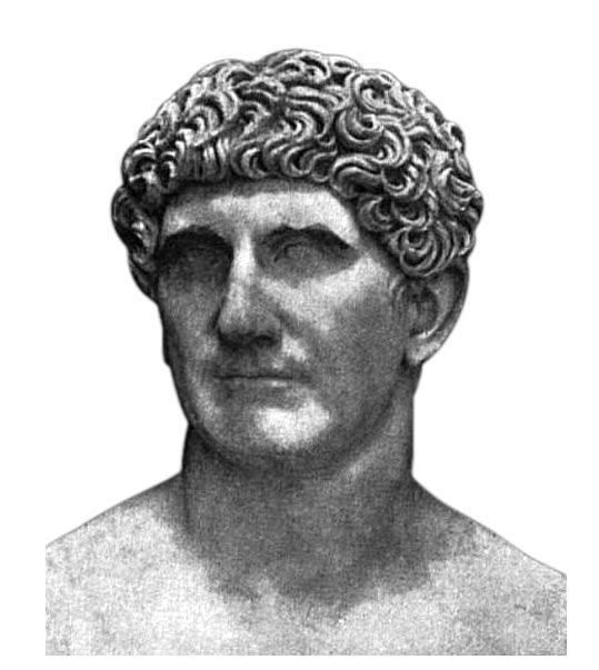 Marcus Antonius (Antony). (Public Domain)