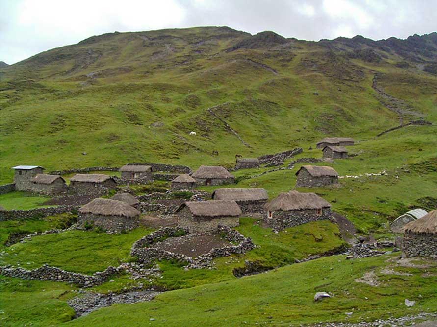 A Q'ero village