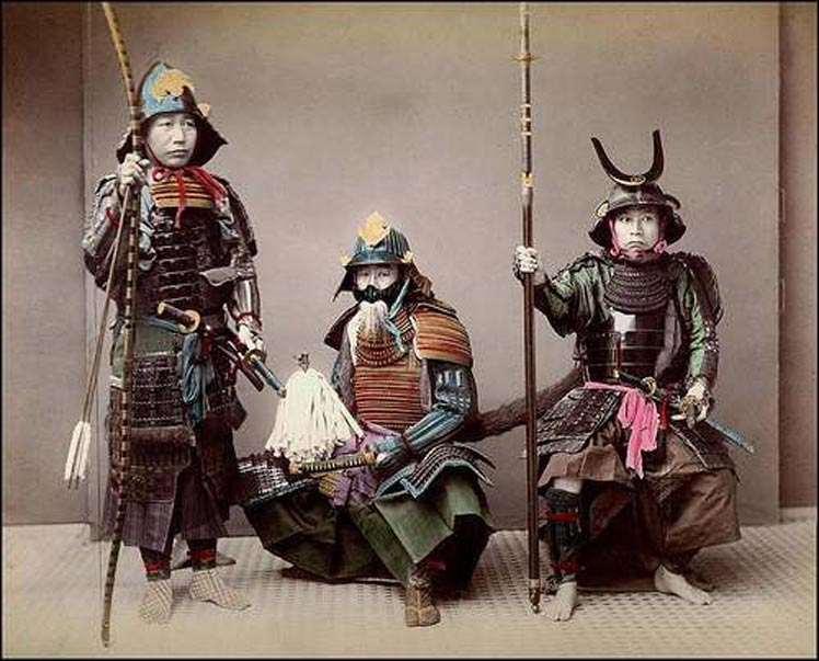 Samurai of the Japanese Edo Period (1603-1868)