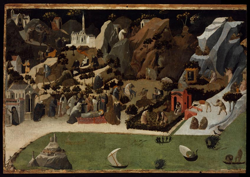 Scenes from the Lives of the Desert Fathers (Thebaid), 1420.