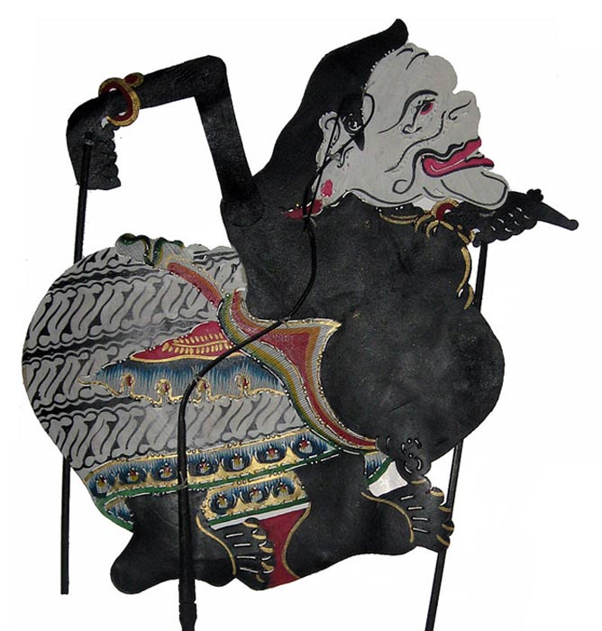 Semar, a wayang (shadow puppet) character from Indonesia.