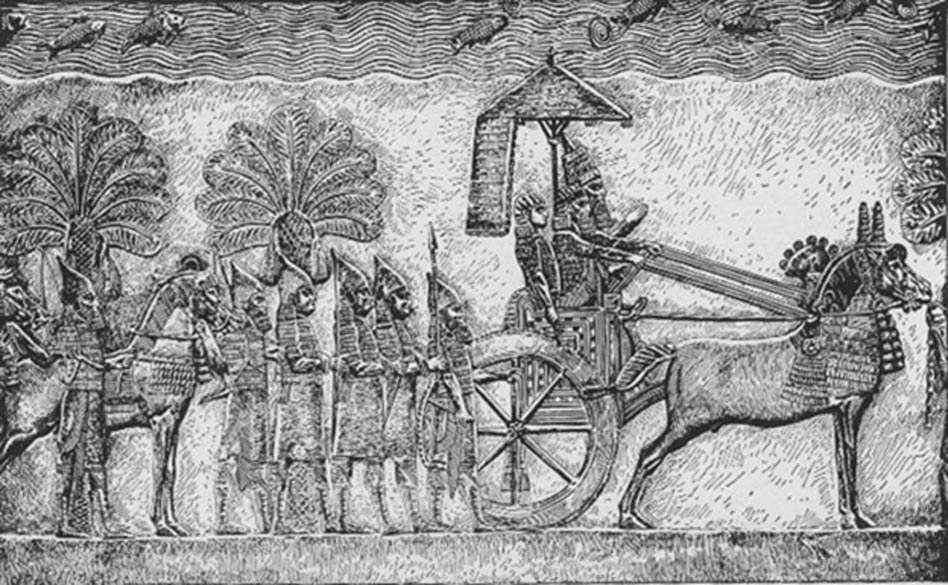 Sennacherib, king of Assyria 705 BCE–681 BCE.