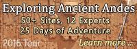Ancient Origins Tour 2016