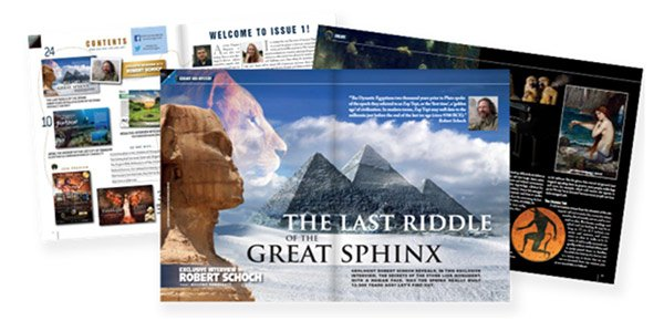 Ancient Origins Magazine September Issue - Sample pages