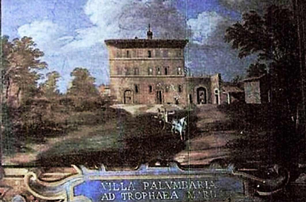 Villa Palombara in Rome, by Annibale Angelini (1859) Palazzo Massimo alle Colonne
