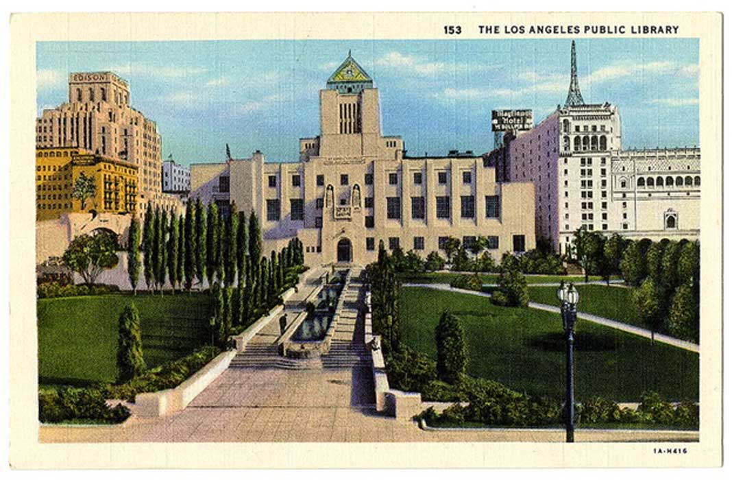 Los Angeles Public Library, courtesy, California Historical Society, CHS2015.1897