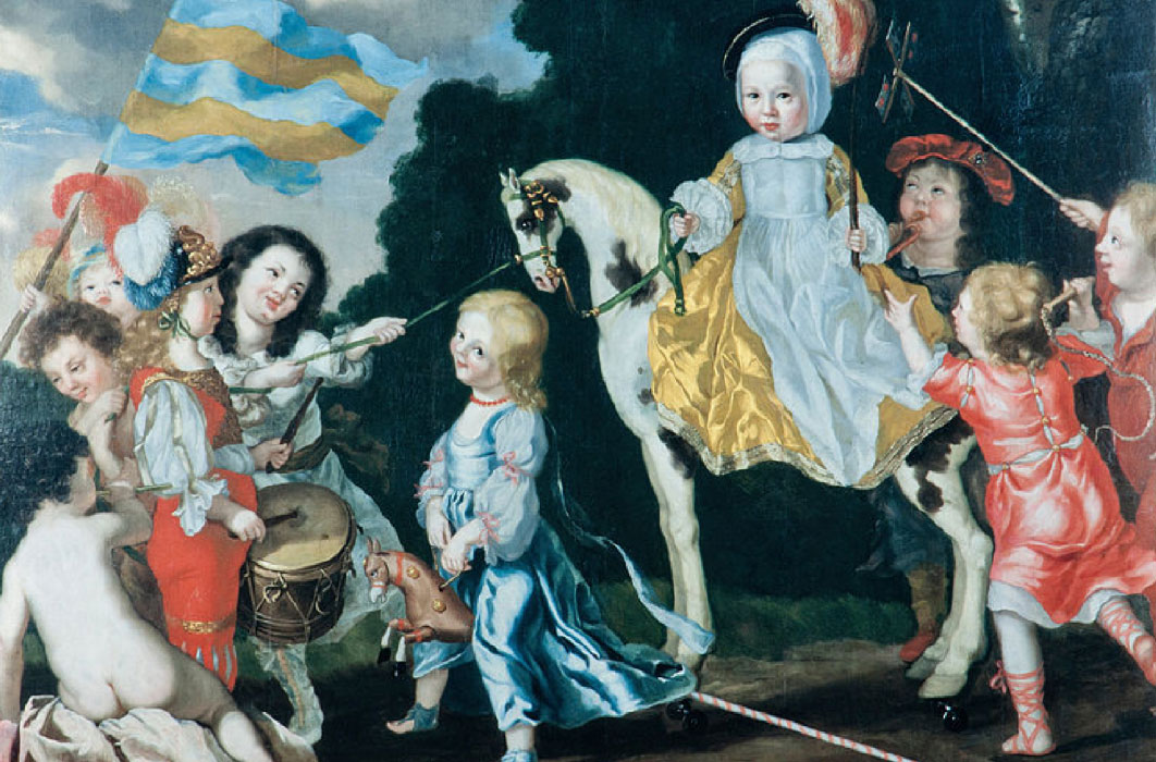 Children Playing by David Klöcker Ehrenstrahl (1651) Skokloster Castle (Public Domain)