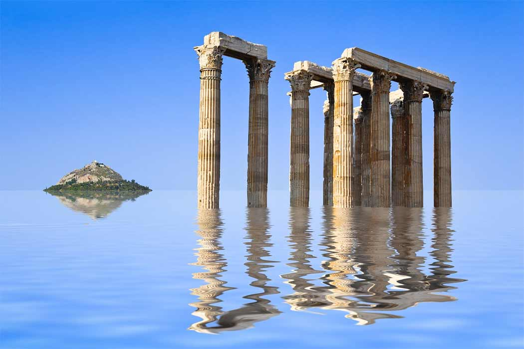Plato's Prehistoric Athens Destroyed In A Neolithic Landslide