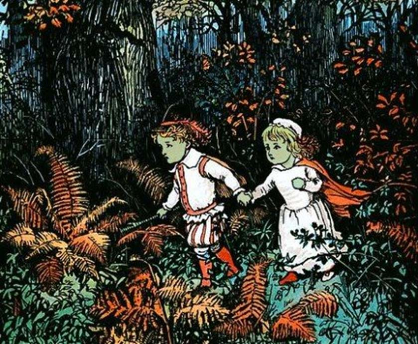 Babes in the Wood illustrated by Randolph Caldecott