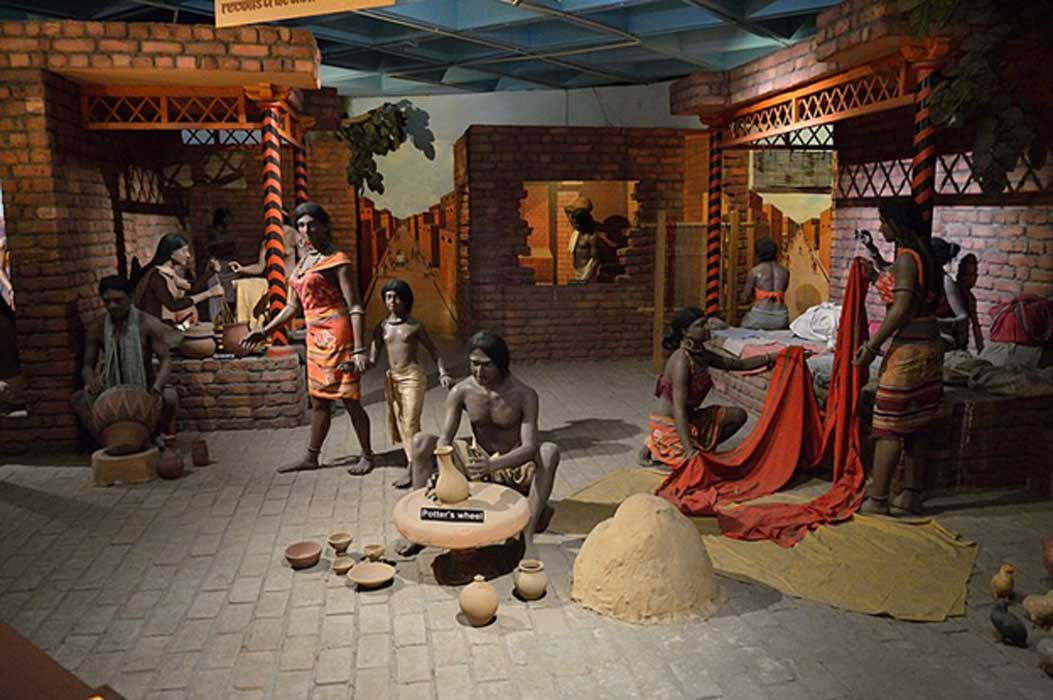 Indus Valley Diorama by Biswarup Ganguly