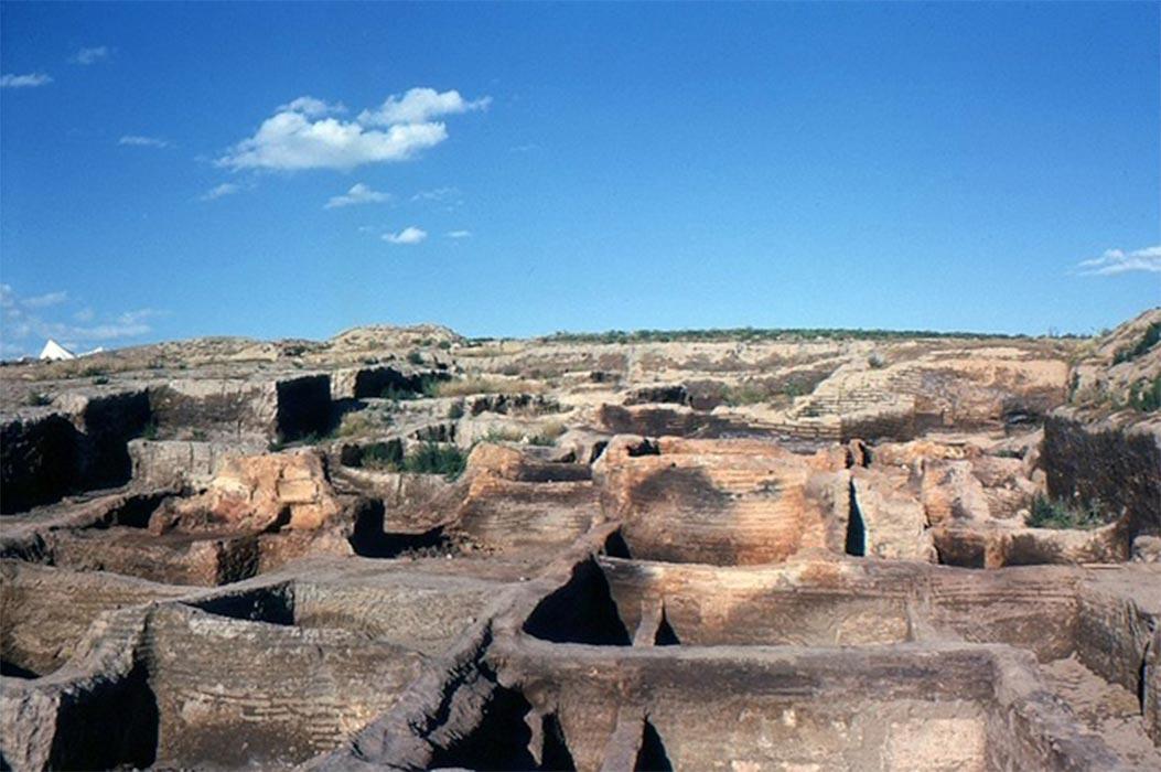 Çatalhöyük after the first excavations. (Omar hoftun/ CC BY-SA 3.0)