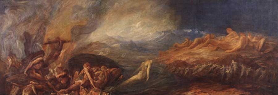 Chaos by George Frederic Watts (exhibited 1882) (Public Domain)