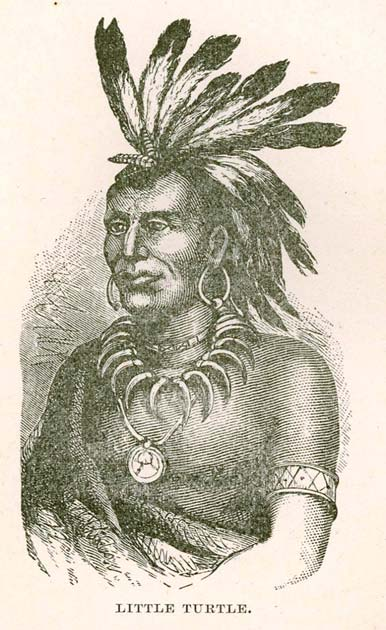 Chief Little Turtle (Public Domain)