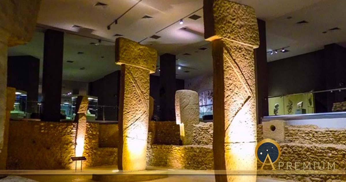Göbekli Tepe PIlars in the Sanliurfa museum. (Cobija / CC BY-SA 4.0)