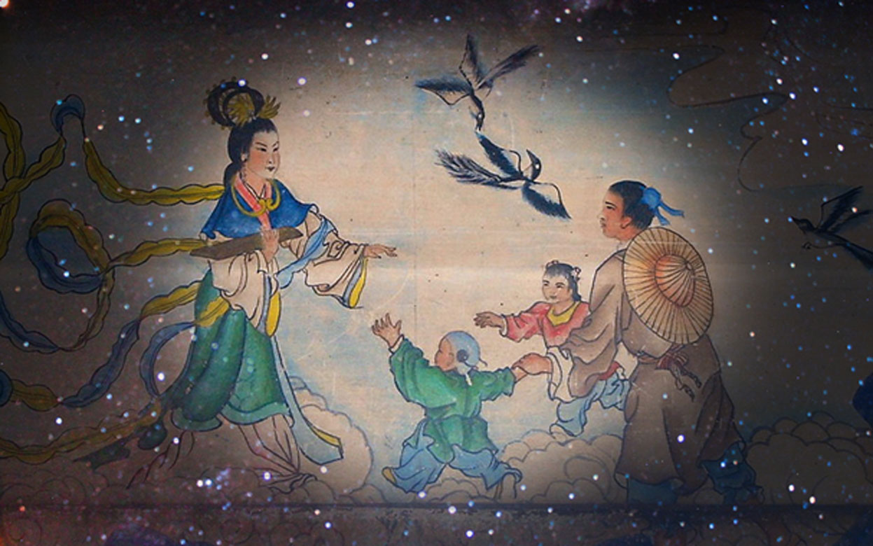 The Cowherd and the Weaver Girl: An Ancient Celestial Legend of Star-Crossed Lovers in the Sky