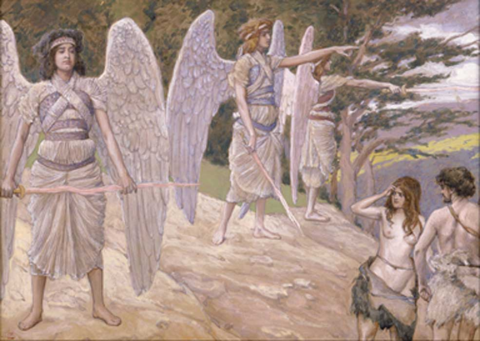 Expulsion from Paradise, painting by James Jacques Joseph Tissot