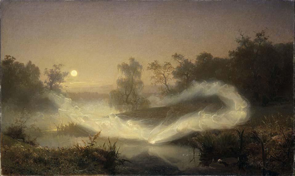 August Malmström - Dancing Faeries (1866)