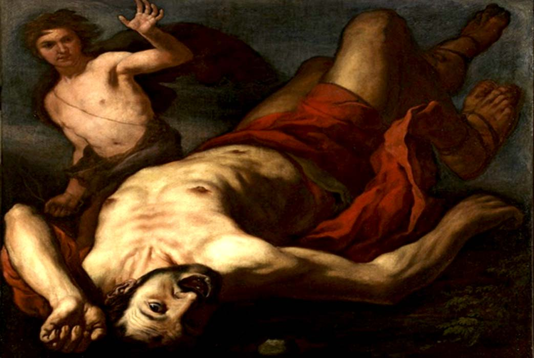 David and Goliath, by Antonio Zanchi (1631—1722)