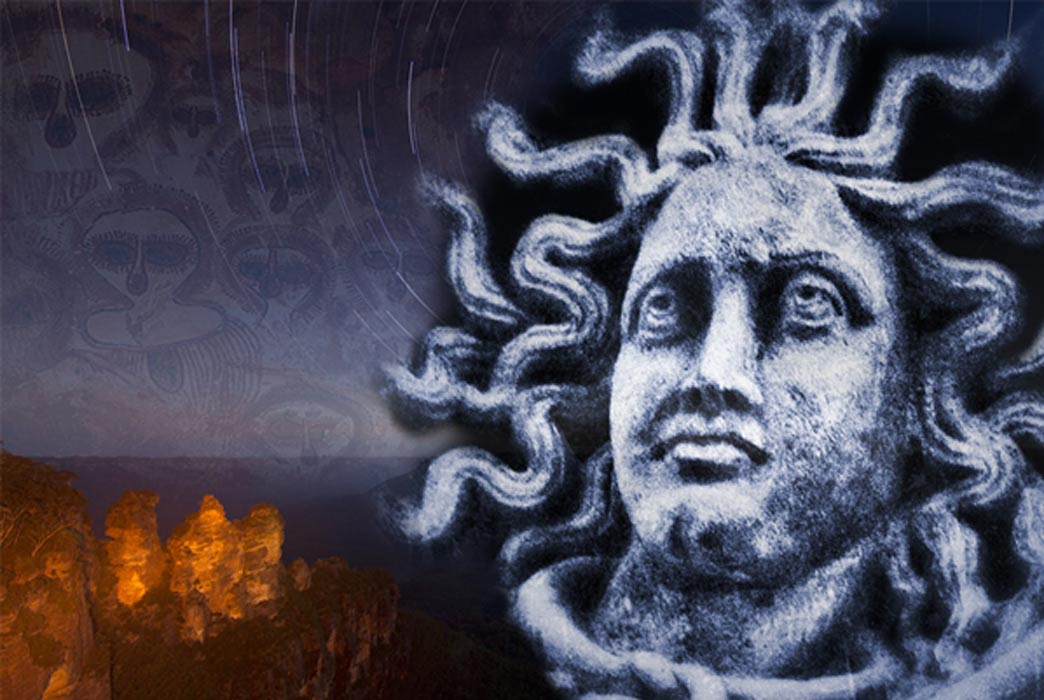 The Dreamtime Legend of the Three Sisters and Petrification in Ancient Mythology