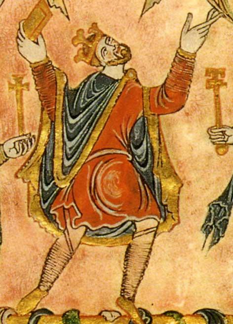 Eadwig's brother, Edgar became King (Public Domain)