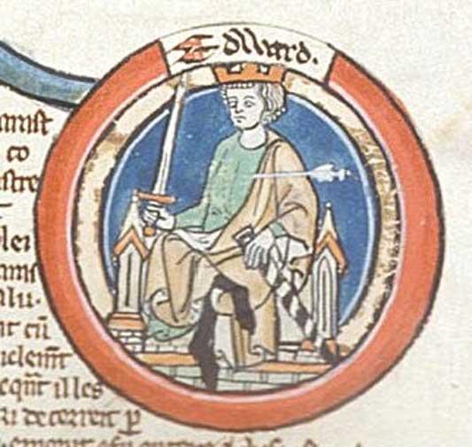 Edward the Martyr (Public Domain)
