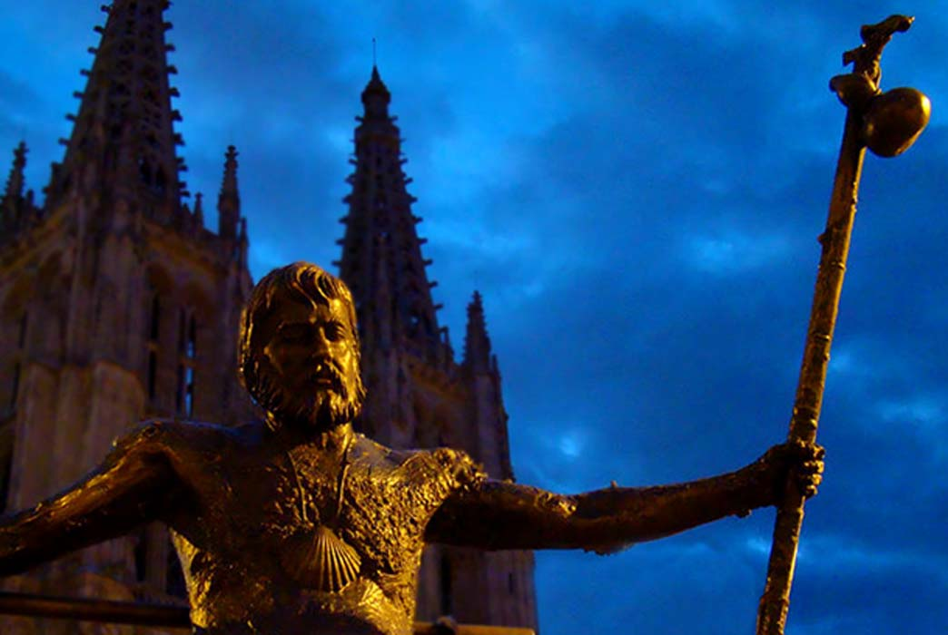 Monument of the pilgrims, Burgos