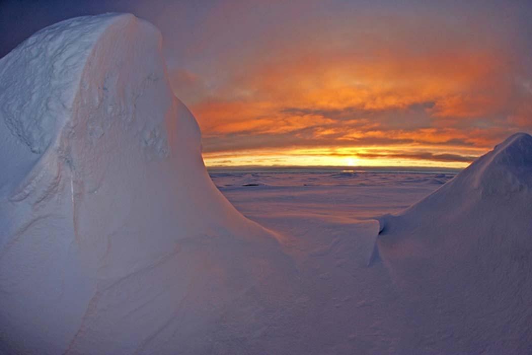 Arctic Ocean Sea Water.