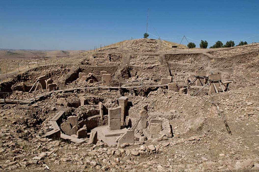 Göbekli Tepe site showing different sections (Teomancimit / CC BY-SA 3.0)