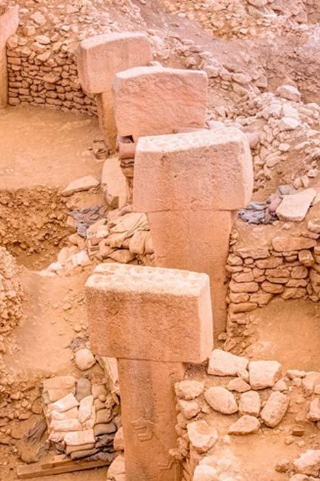 Göbekli Tepe's ancient megalithic pillars (muratart / Adobe Stock)
