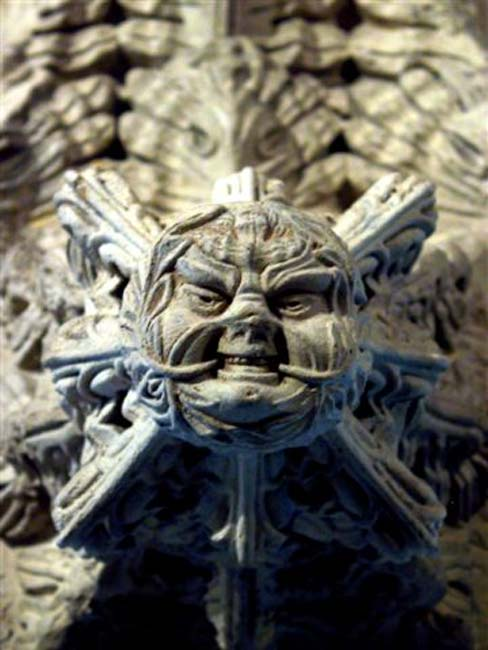 Green Man of the Rosslyn Chapel (CC BY-SA 3.0)