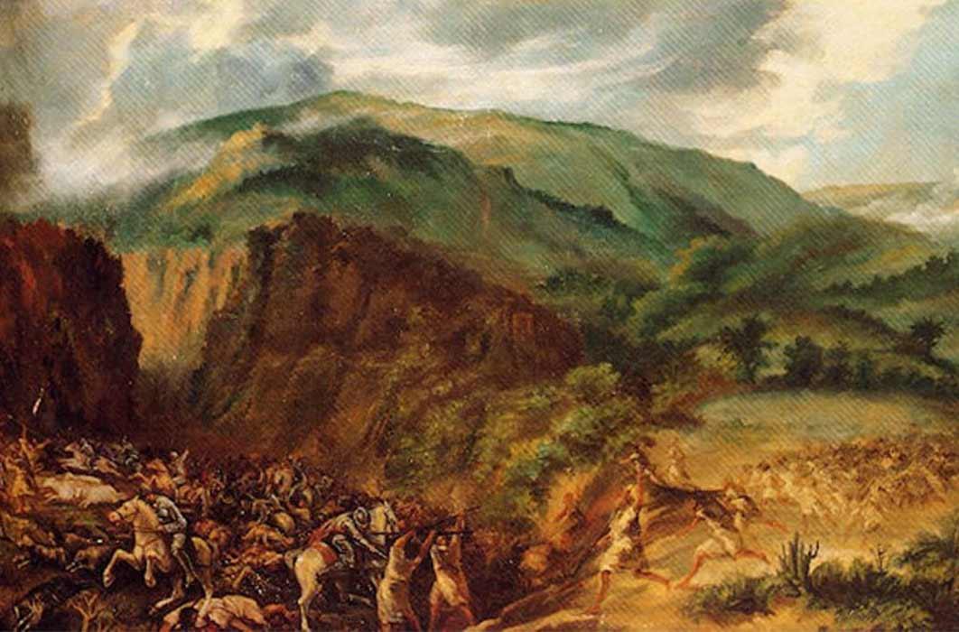 Battle of Acentejo by Gumersindo Robayna (Public Domain)