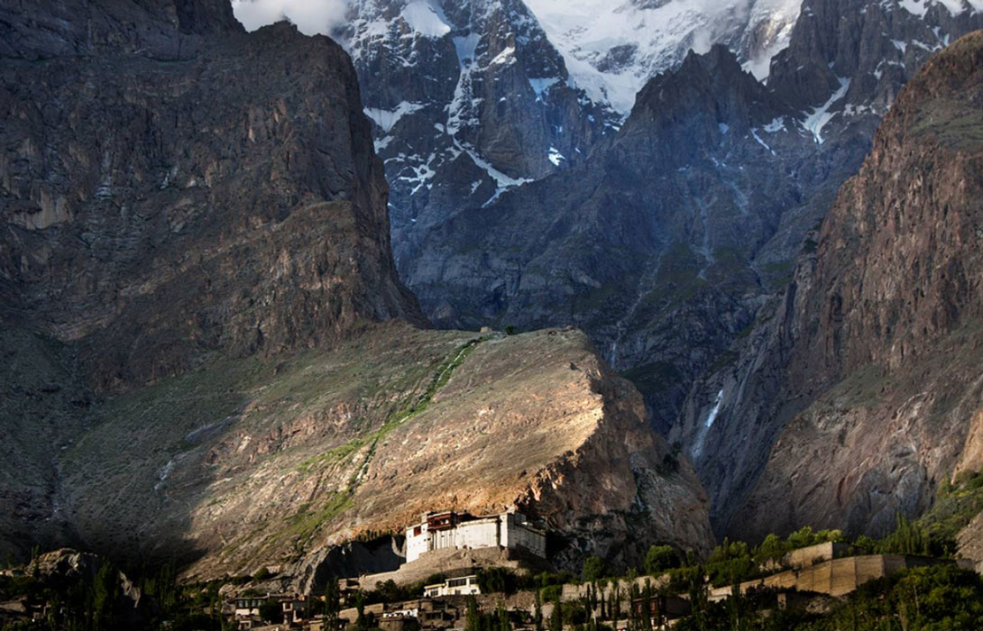 Nestled and sheltered by the mountain ranges, lies the hidden Hunza Valley, inspiration to the Shangri-La legend.
