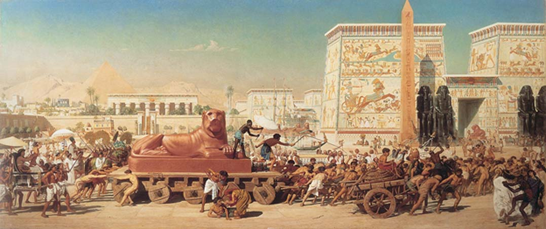 Israel in Egypt by Edward Poynter (1867) (Public Domain)