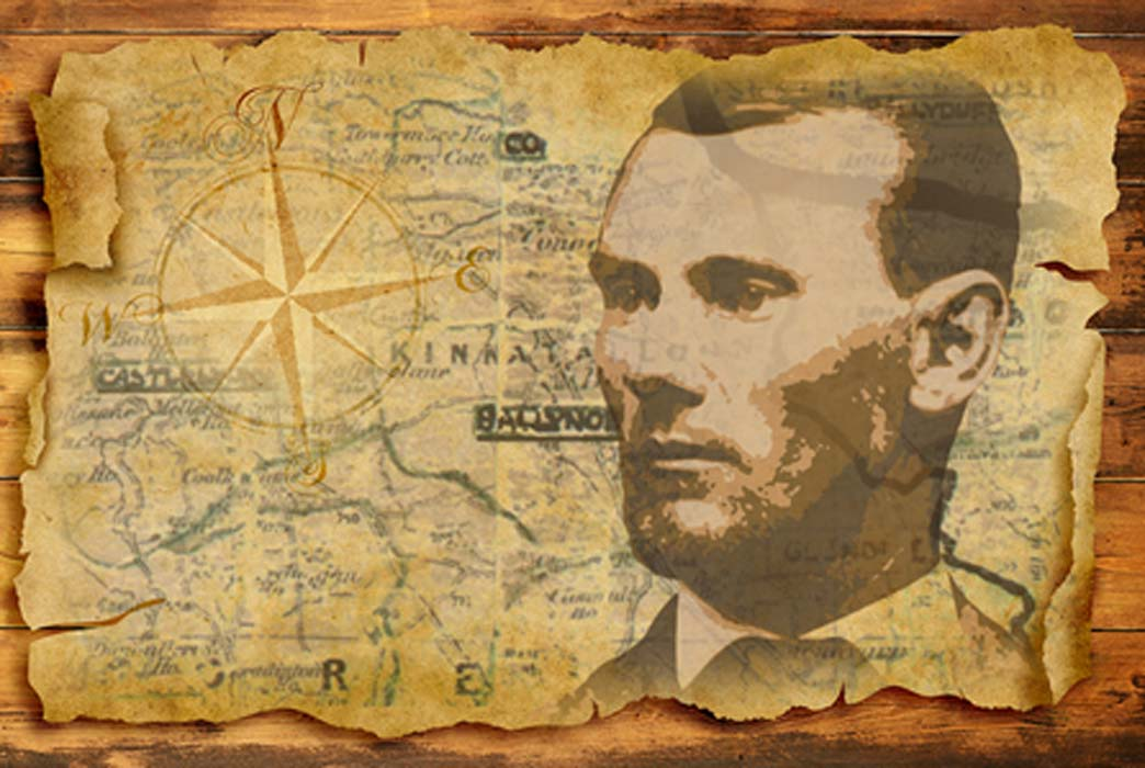 Portrait of Jesse James. (Deriv) (pict rider / Adobe Stock)