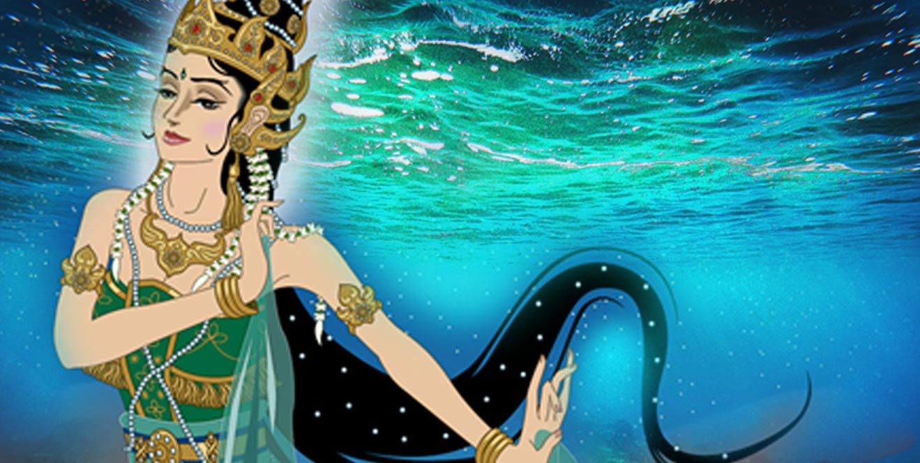 Deriv; Kanjeng Ratu Kidul, the Queen of the Southern Sea of Java.