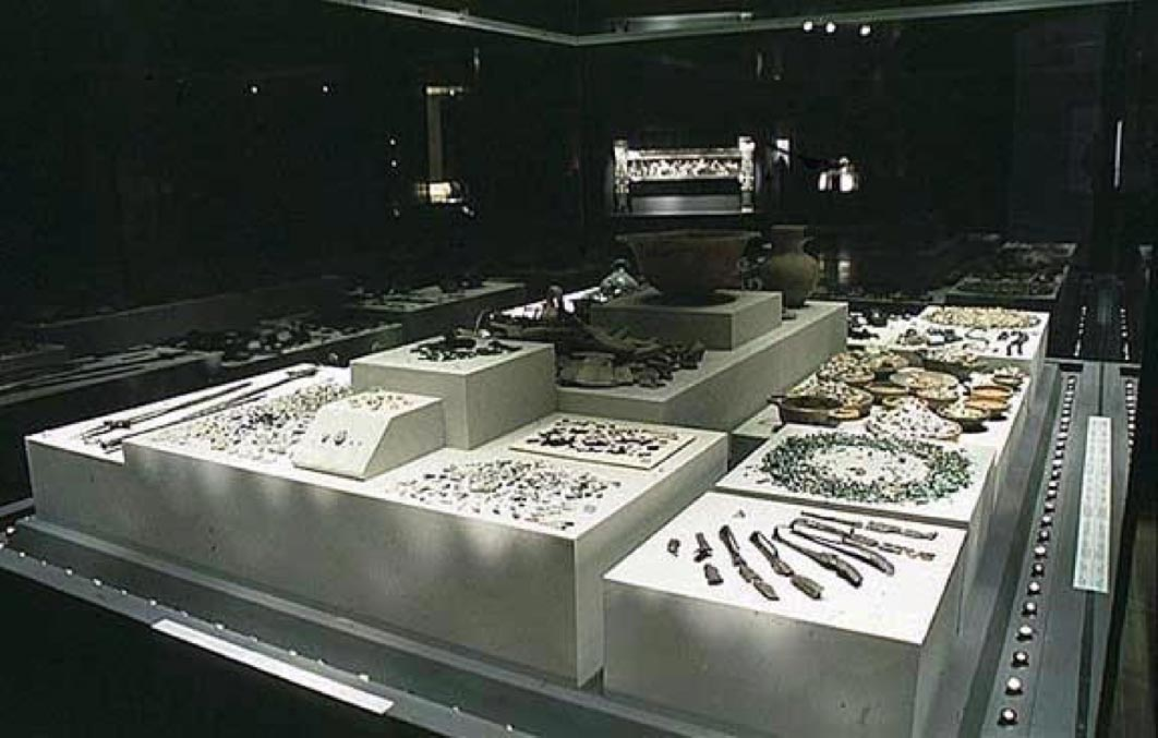 Remains from the funerary pyre of Philip II. (Macedonian Heritage / CC BY-SA 3.0)