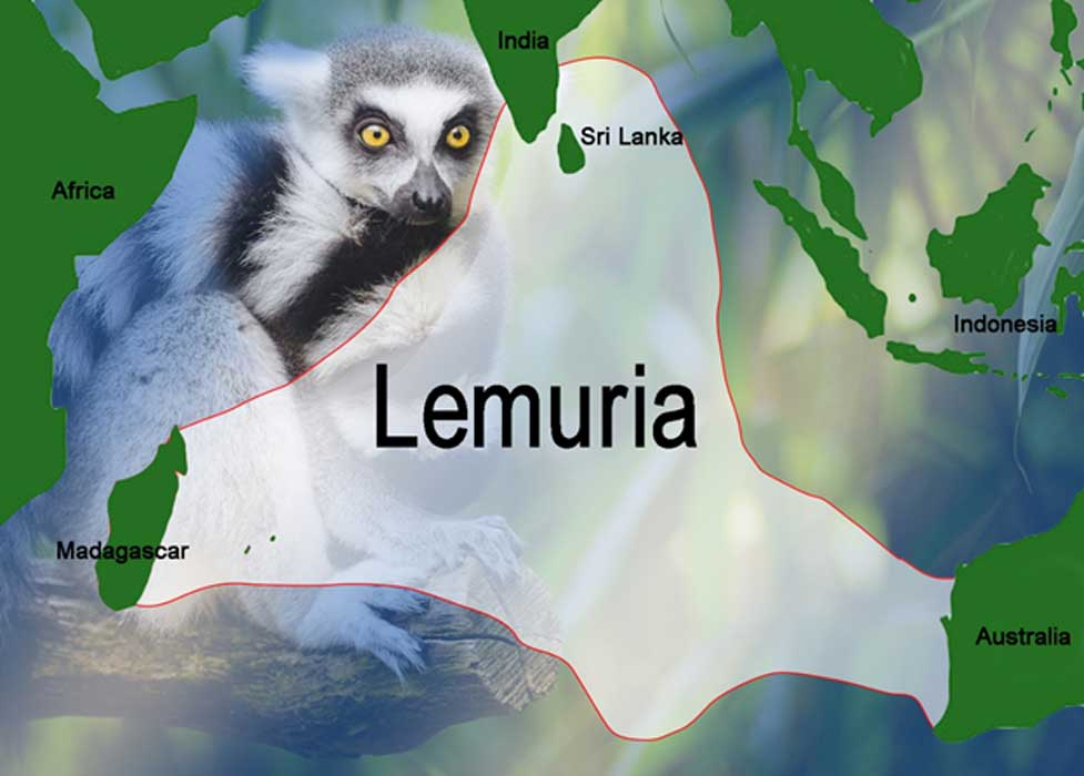 Possible location for Lemuria.