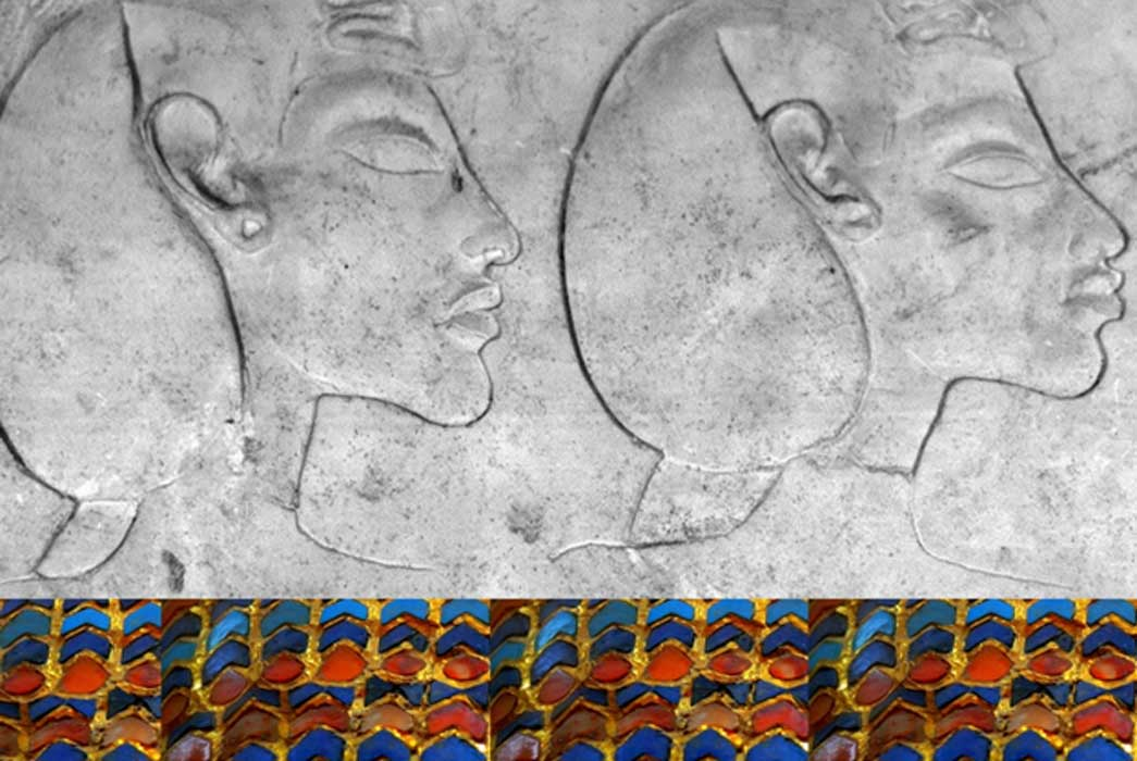 Collection of Egyptian Art, design by Anand Balaji; Deriv