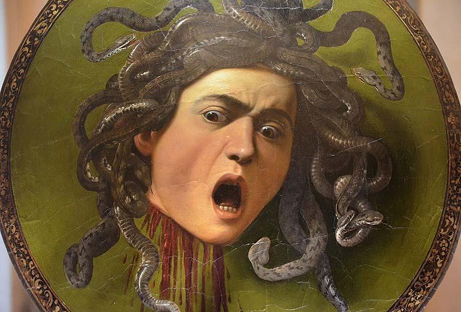 Medusa by Caravaggio, 1597 (CC BY-SA 2.0)