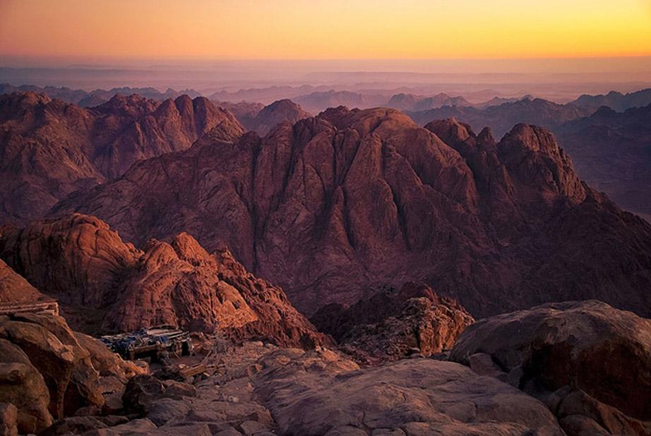 Mount Sinai, also known as Mount Horbe