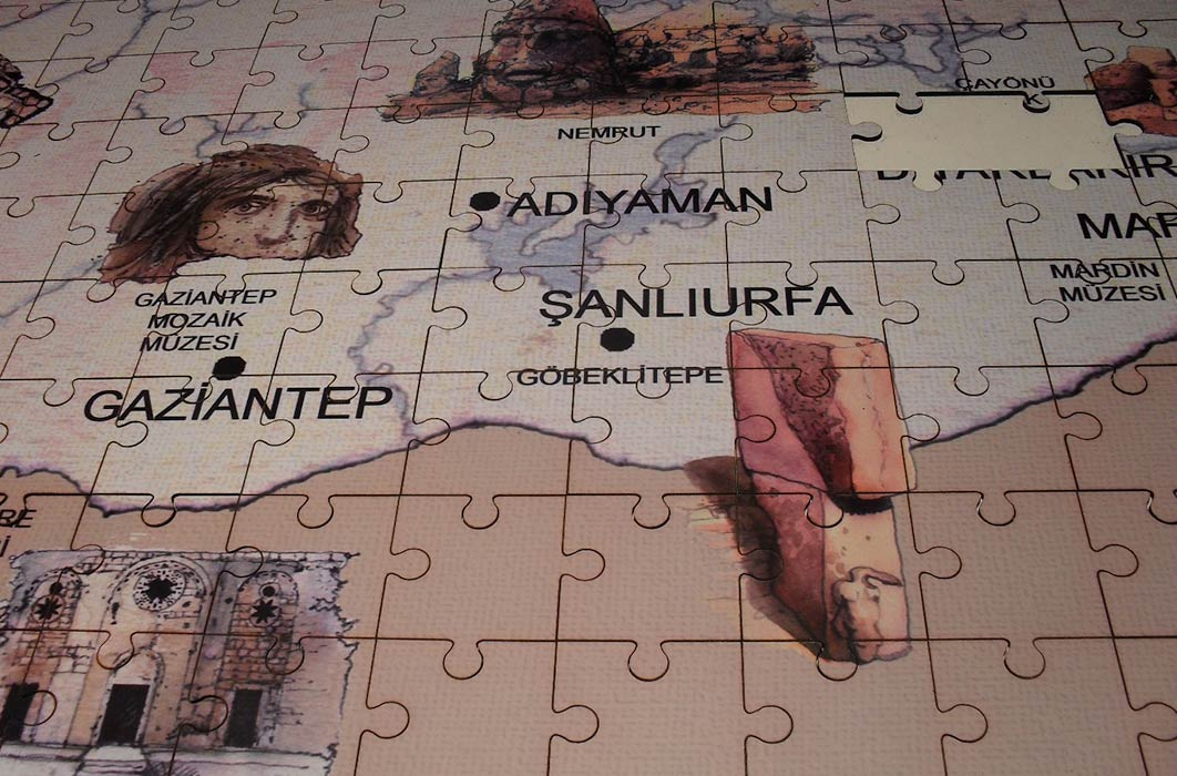 Puzzle of Ancient Anatolia, Istanbul Archaeological Museum (Image: Courtesy Micki Pistorius)
