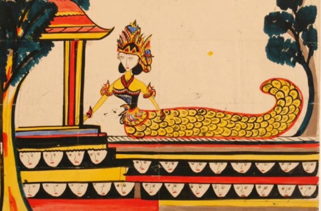 Depiction of Nyi Blorong ( circa 1879) Tropenmuseum (Public Domain)