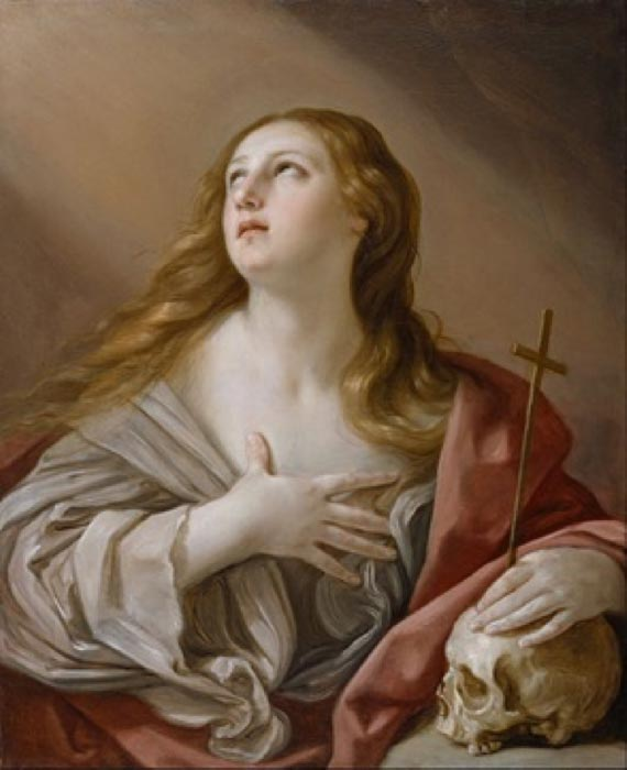 The Penitent Magdalene by Guido Reni (1635) Walters Art Museum (Public Domain)