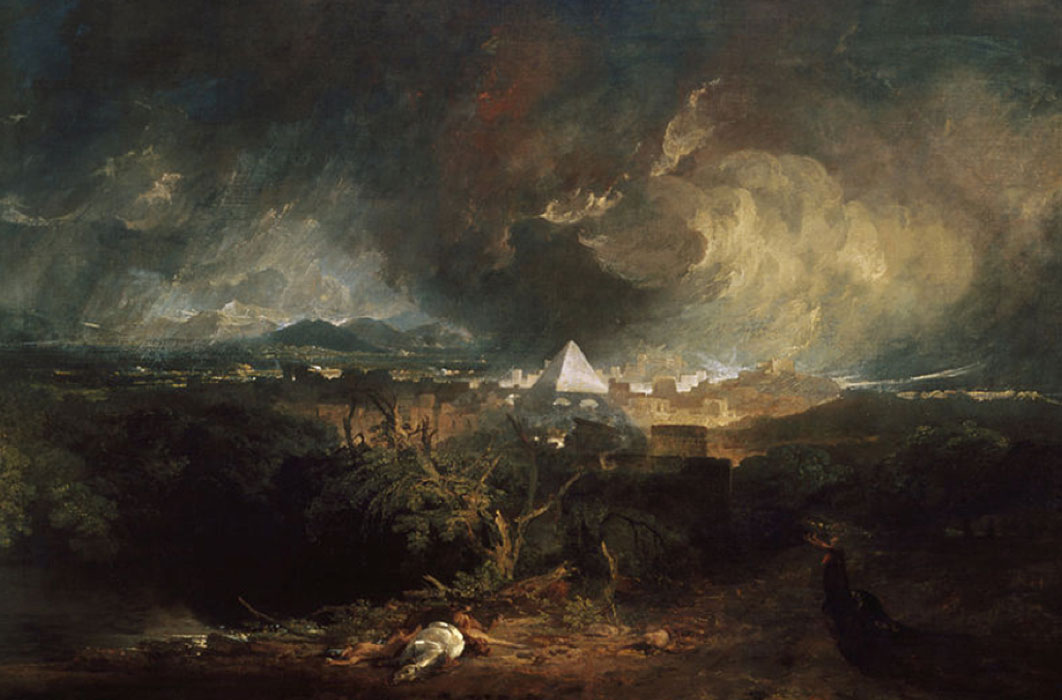 The Fifth Plague of Egypt by J. M. W. Turner (1800) Indianapolis Museum of Art  (Public Domain)