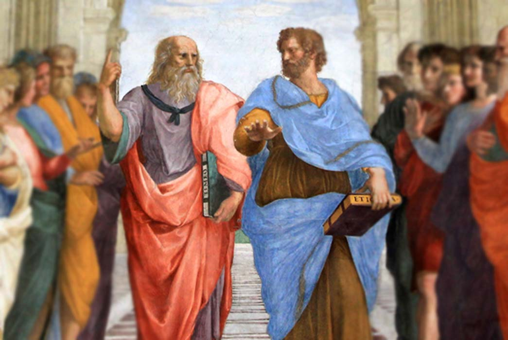 The School of Athens: Plato and Aristotle