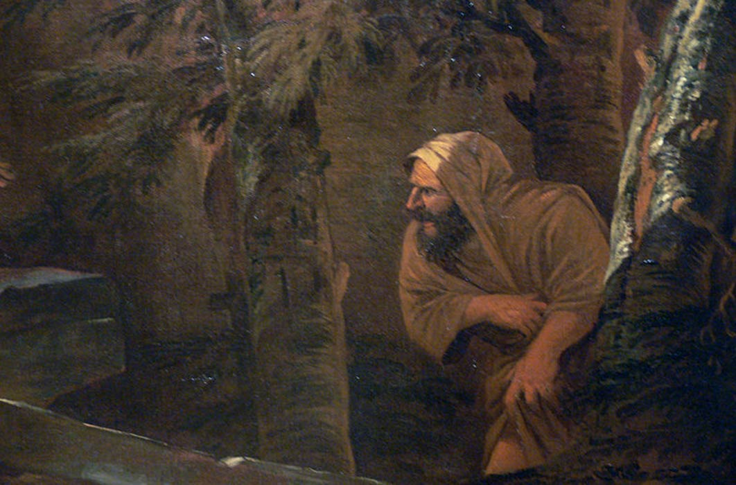 Pythagoras Emerging from the Underworld by Salvador Rosa (1662) Kimbell Art Museum (Public Domain)