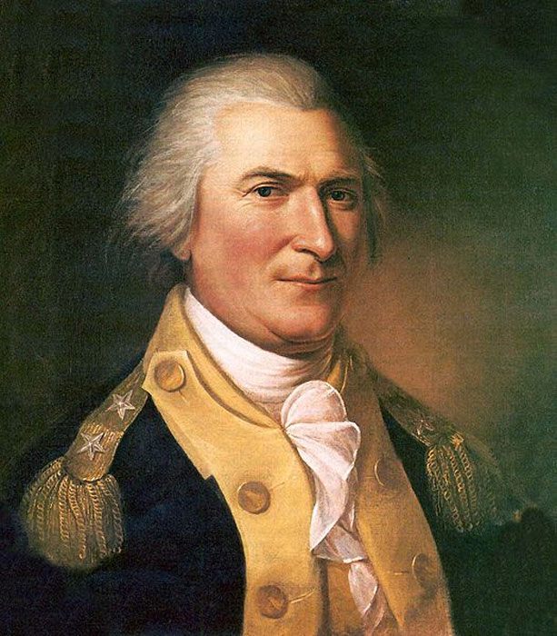 Portrait of Arthur St. Clair (1737-1818) by Charles Willson Peale (1782). Independence National Historical Park, Philadelphia. (Public Domain).