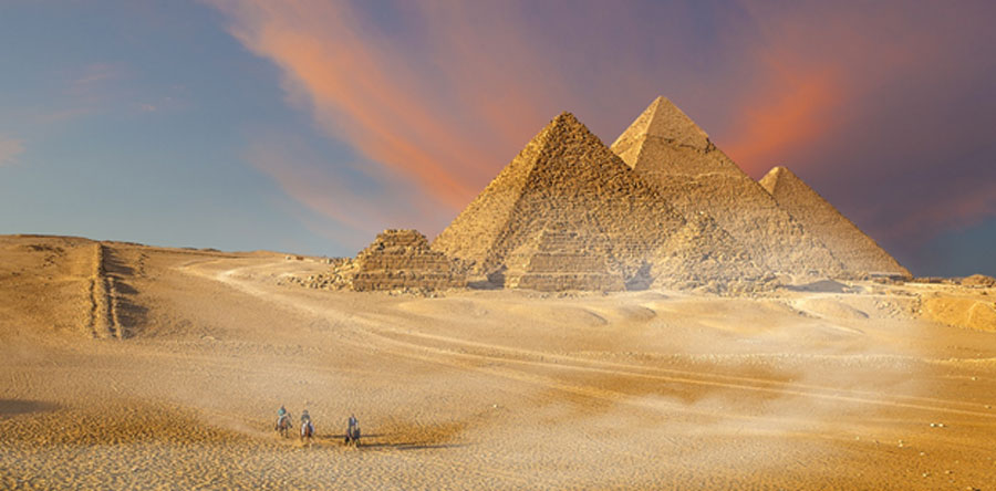 Pyramids of Giza (Marcella Miriello / Adobe Stock)