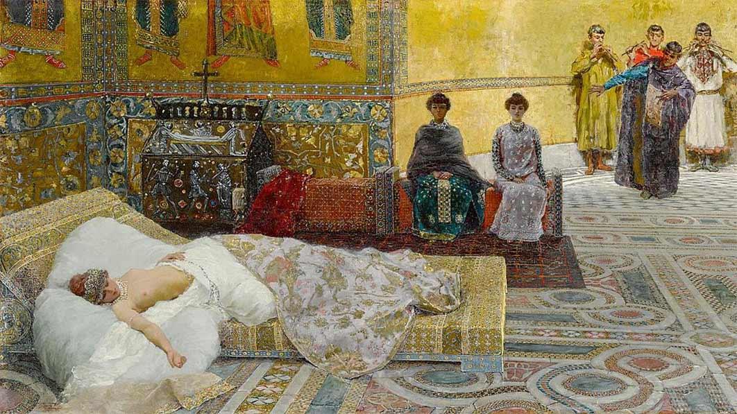 Theodora by Giuseppe de Sanctis (Public Domain)