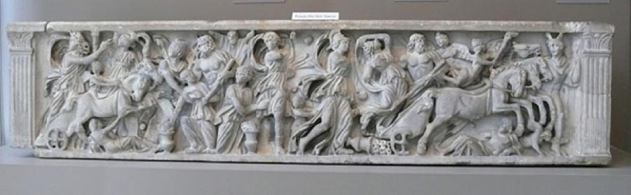 Sarcophagus with the Abduction of Persephone by Hades. Walters Art Museum (CC BY-SA 3.0)